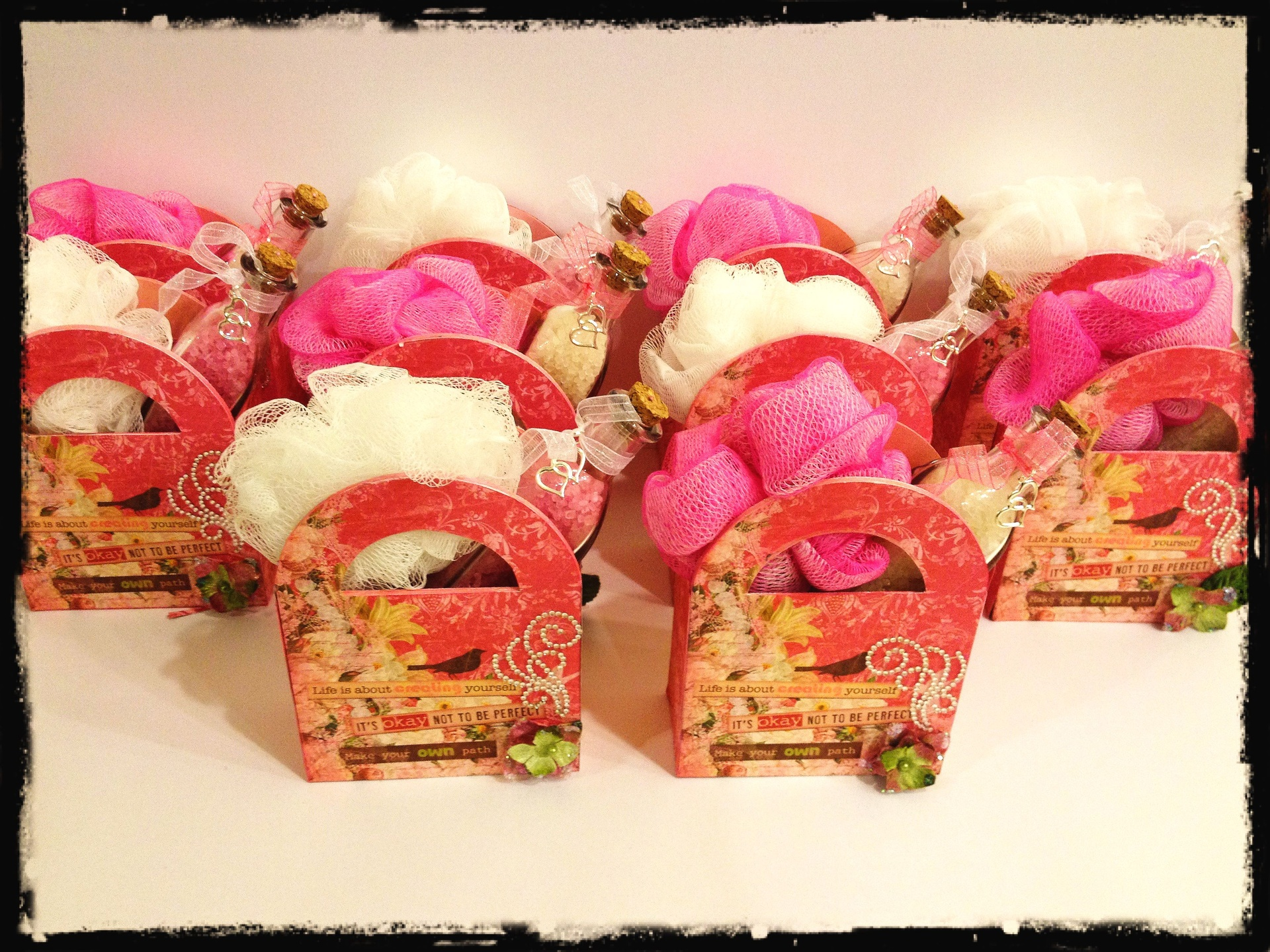 PINK Bridal Shower Favors